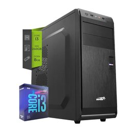Pc Intel Core i3 9100 - SSD 240Gb 8Gb DDR4