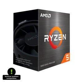 MICROPROCESADOR AMD RYZEN 5 5600X 6/12 4.8GHZ S/G ZEN3