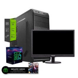 Pc Intel Core i5 9400 + Monitor 22