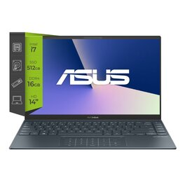 Notebook Asus Zenbook 14 UX425EA-BM024T Intel Core I7 1165G7 16Gb Ssd 512Gb 14