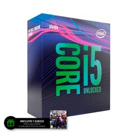 Micro Procesador Intel CORE i5 9600K 4.60Ghz 6/6 9MB 1151