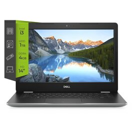 Notebook Dell Inspiron 3493 i3 1005G1 4Gb 1Tb 14