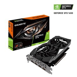 Placa de Video Gigabyte Nvidia GeForce GTX 1650 4G OC Windforce