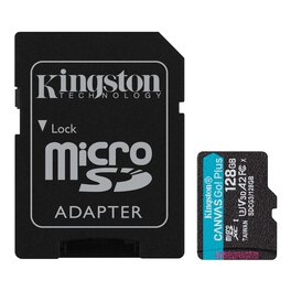 Micro SD 128Gb Kingston Canvas Go Plus 170R A2 U3 V30