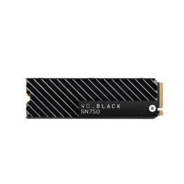 DISCO DE ESTADO SOLIDO SSD 500GB WD M2 NVME SN750 BLACK...