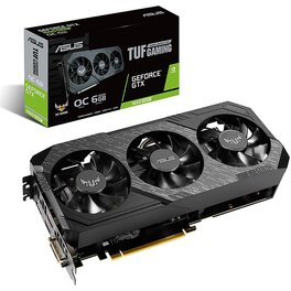 Placa de Video Asus Nvidia Geforce Gtx 1660 Super TUF Gaming Oc 6G