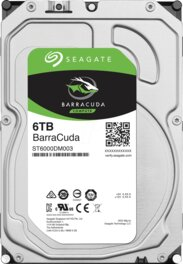 Disco Duro HDD 6Tb Seagate Barracuda 7200RPM