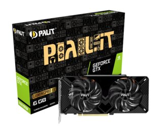 Placa De Video Palit Nvidia GeForce GTX 1660 Super GP OC 6Gb